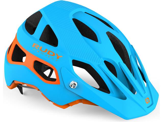 Rudy Project Protera Helmet blue-orange matte